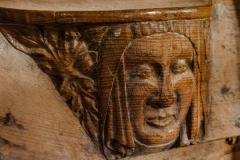 Misericord of a woman