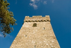 The west tower