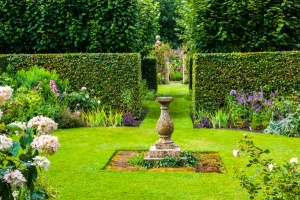 Rose and Sundial Garden