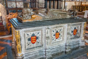 King John's memorial, Worcester Cathedral