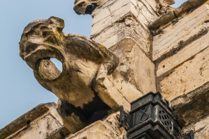 Gargoyle on the north wall