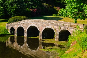 Stourhead Palladian bridge