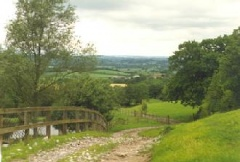 Chedington view into Somerset