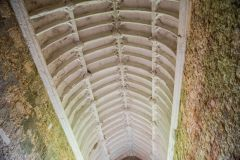 St Catherine's Chapel, The barrel-vaulted chapel ceiling