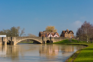 Abingdon Bridge and the River Thames