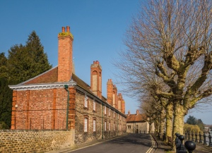 Brick Alley Almshouses