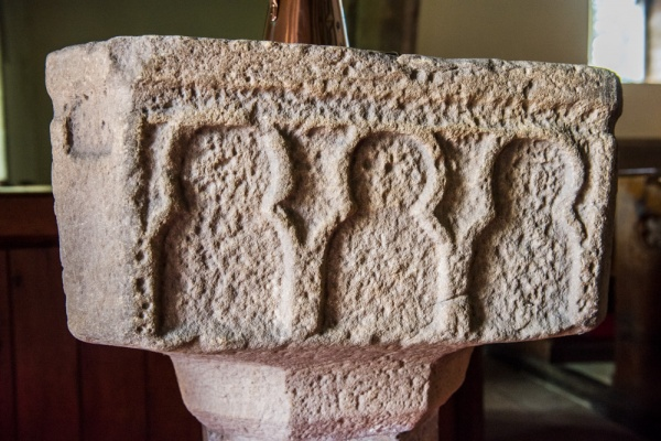 The 12th century font bowl