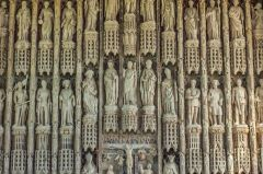 The remarkable chapel reredos