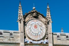 The astronomical clock over the gateway