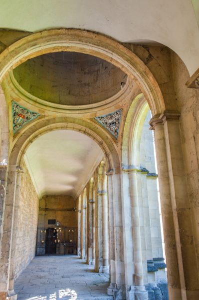 All Souls College photo, Neoclassical cloistered walk