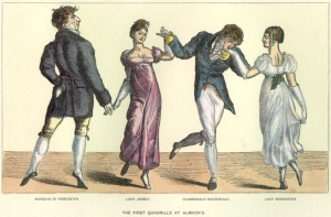 The First Quadrille at Almacks