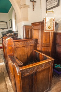 18th century triple-decker pulpit