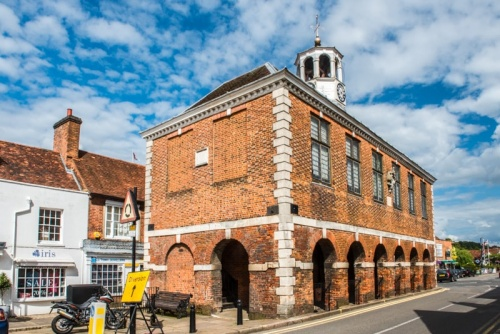 Amersham's historic market hall