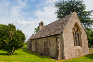 Ampney St Mary - the Ivy Church