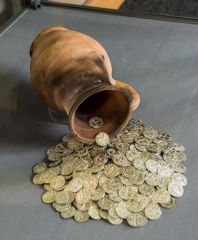 Ancient High House, Gold coins from the Staffordshire Hoard