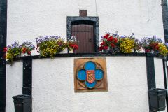 Appleby-in-Westmorland, Coat of arms on the Moot Hall