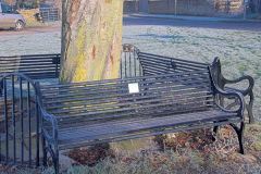 The Ascott Martyr memorial benches