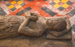 Ashwell, St Mary's Church, Another look at the wooden knight effigy