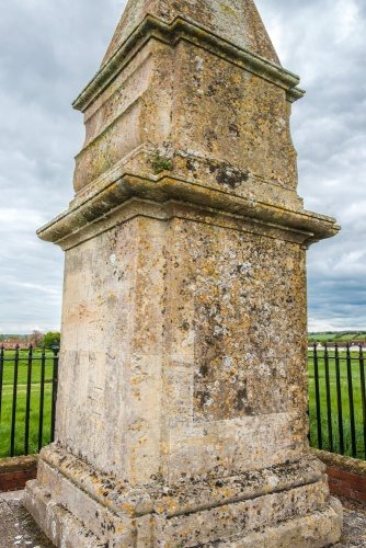 Alfred the Great Monument at Athelney Abbey