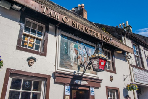 The Tam O'Shanter Inn in Ayr