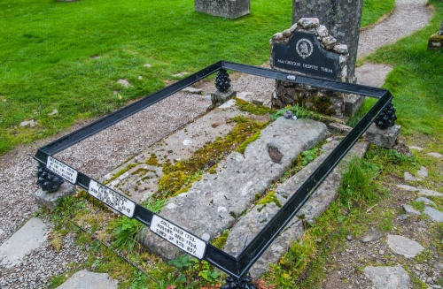 Rob Roy's grave at Balquhidder Old Kirk