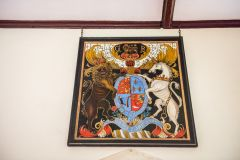 Barton Stacey, All Saints Church, Royal coat of arms of George III