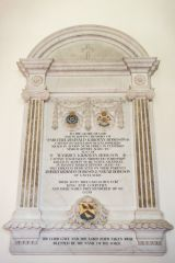 Barton Stacey, All Saints Church, Hodgson brothers memorial, 1915