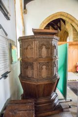 The early 17th century pulpit