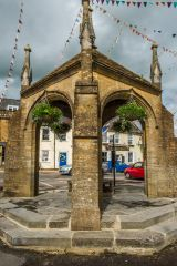 The picturesque market cross