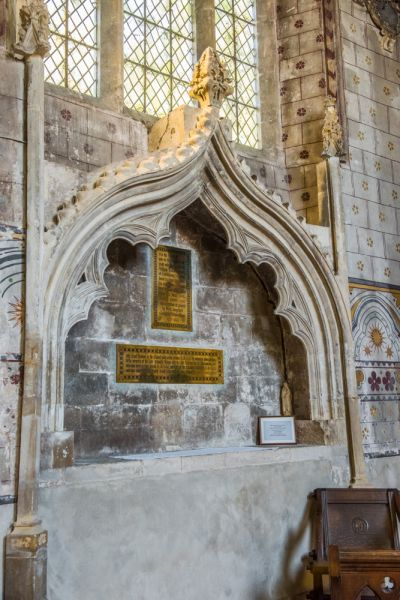 Berkeley photo, The Jenner memorial in St Mary's church