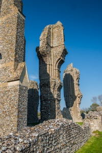 Abbey remains, Binham