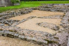 Foundations of the drill hall