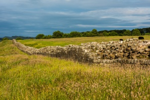 Hadrian's Wall, leading east to Milecastle 49