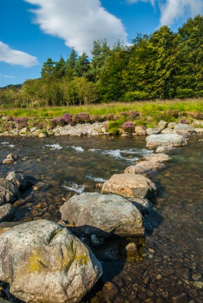 Stepping stones across the River Duddon