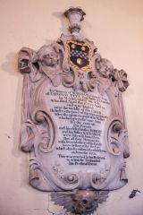 Blandford Forum, St Peter & St Paul Church, Memorial William Pitt, 1730