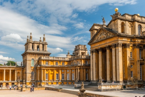 Blenheim Palace entrance