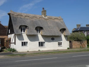Thatched cottage, Blunham, Bedfordshire