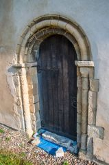 Blyford, All Saints Church, The Norman south doorway