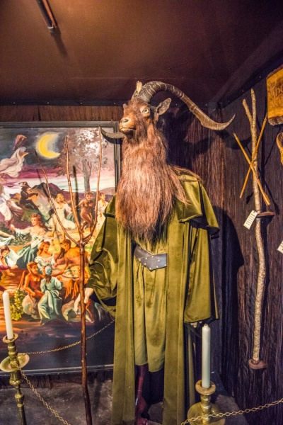 The Horned God exhibit