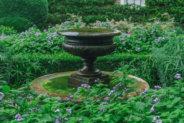 The Fountain Garden at Bourton House Gardens