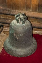 Bowness-on-Solway, One of St Michael's church stolen bells