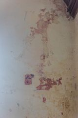 Bradstone, St Nonna's Church, Remains of a medieval wall painting