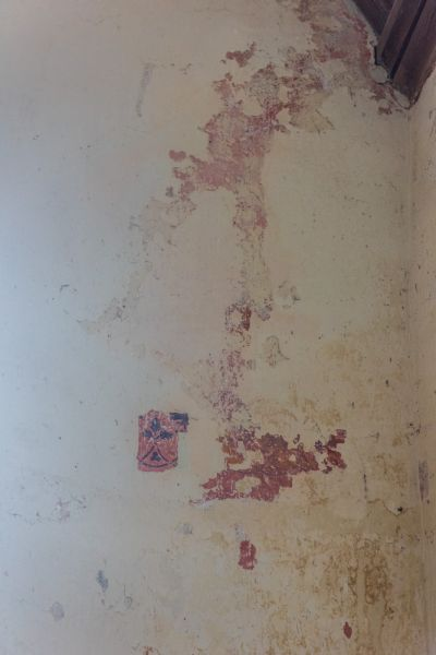Bradstone, St Nonna's Church photo, Remains of a medieval wall painting