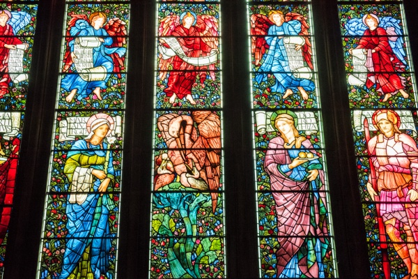 The east window, by Edward Burne-Jones