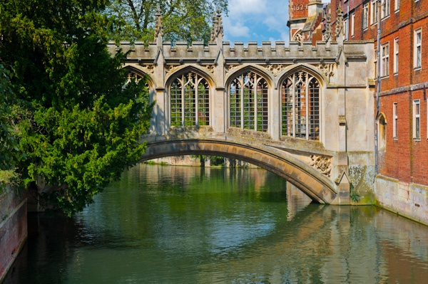 Bridge of Sighs, St John's College