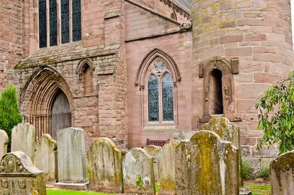 Brechin Cathedral churchyard