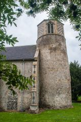 The Saxon round tower
