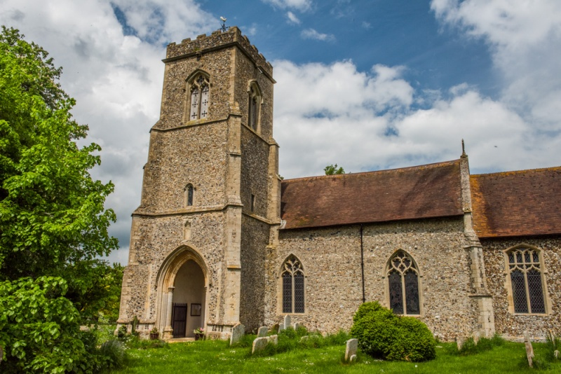 St Mary's Church, Brettenham