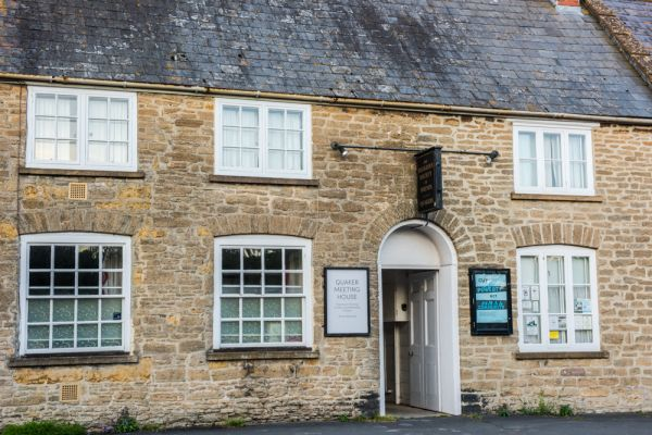 Bridport photo, The 17th century Quaker Meeting House, South Street