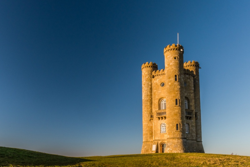 Broadway Tower on an early winter afternoon